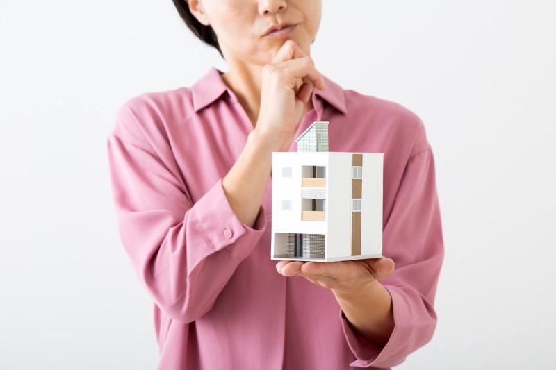 住宅の購入で疑問を持つ人